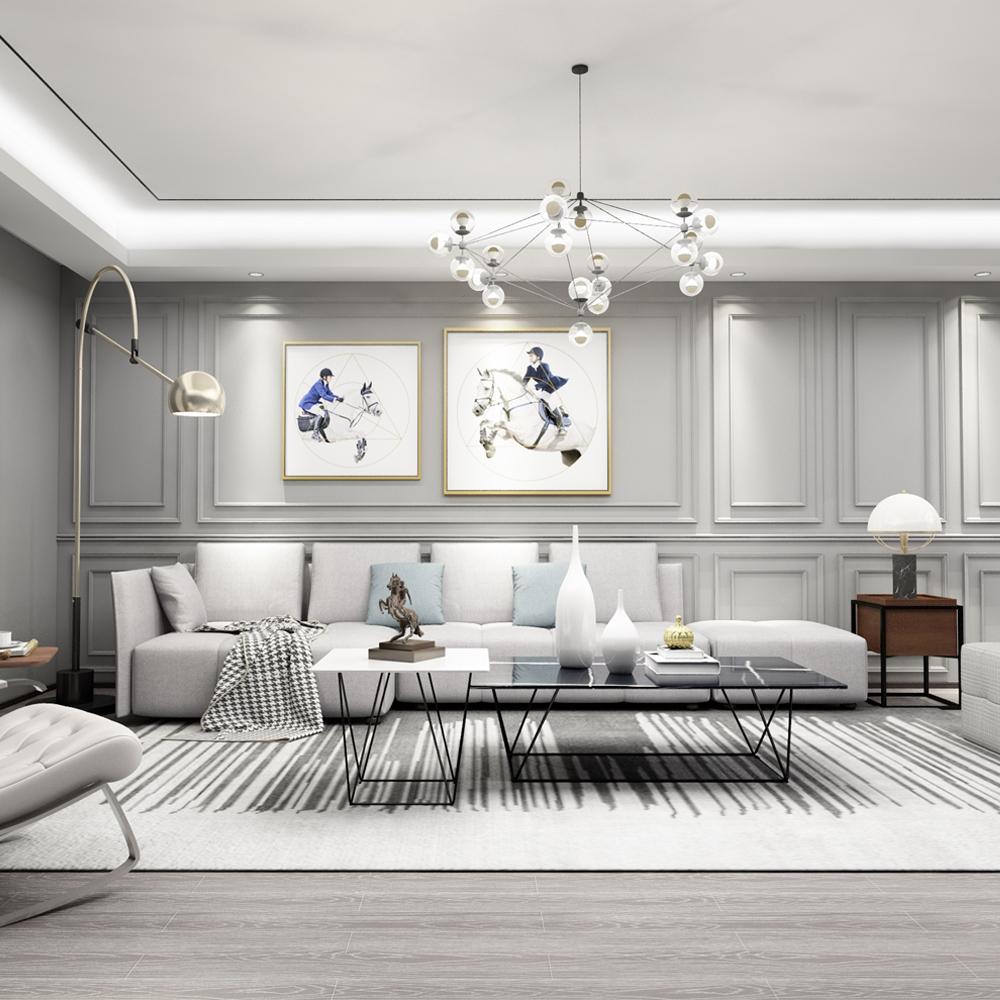 现代简约卧室风格家具