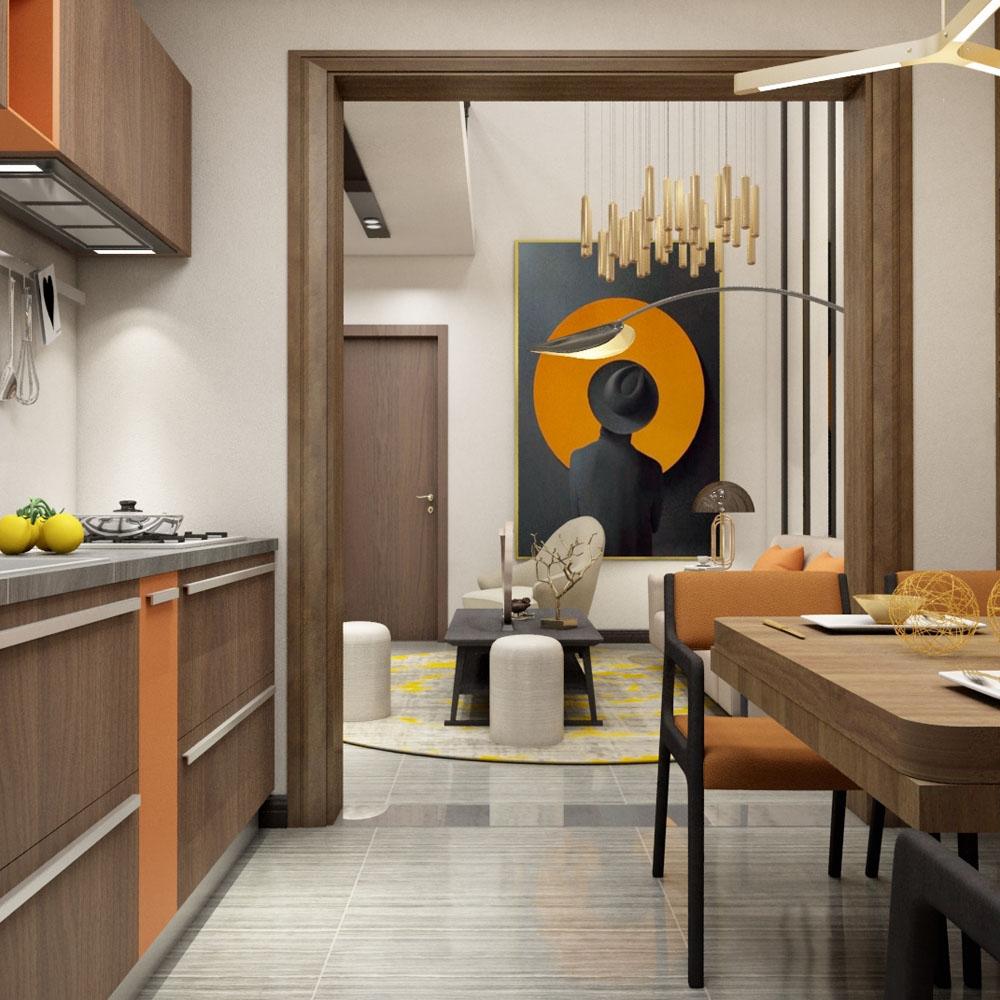 别墅现代家具
