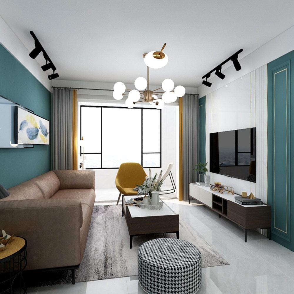 现代风格户型房间