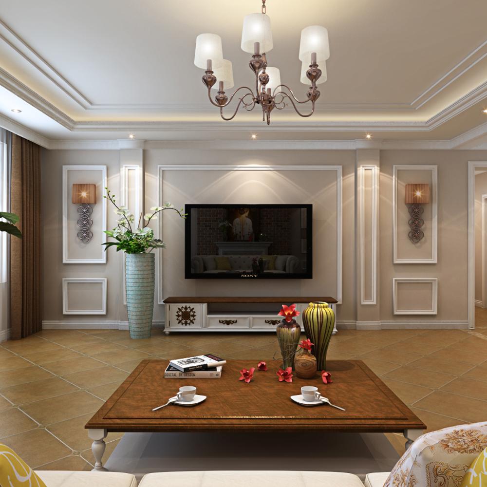 美式客厅家居