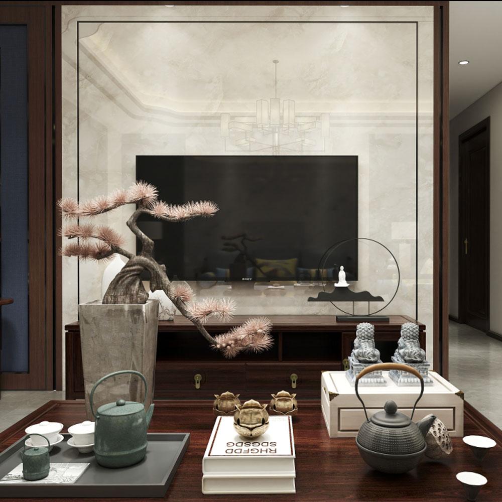 新中式风格三室一厅