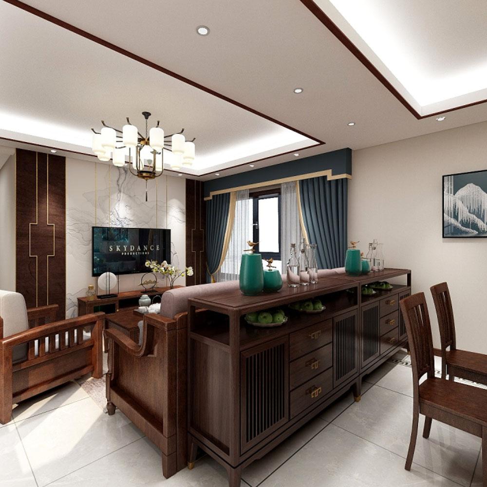 新中式别墅区
