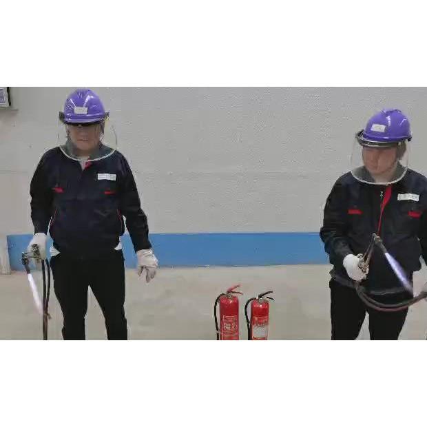 压密木与钢板的耐火实验 (4播放)