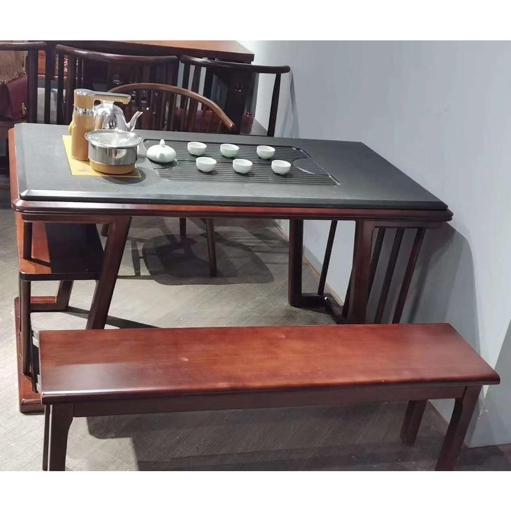 老船木茶桌椅组合功夫