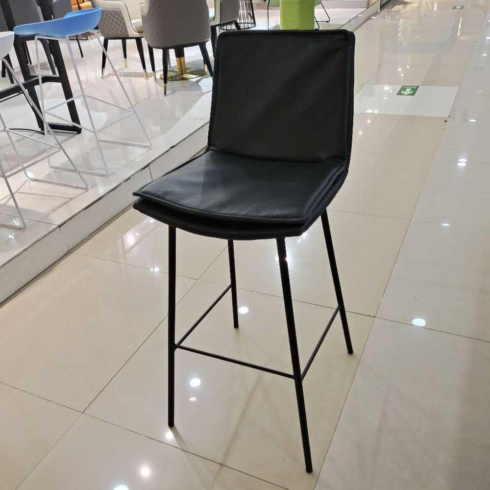 BY-16 软包吧台椅高脚凳价格
