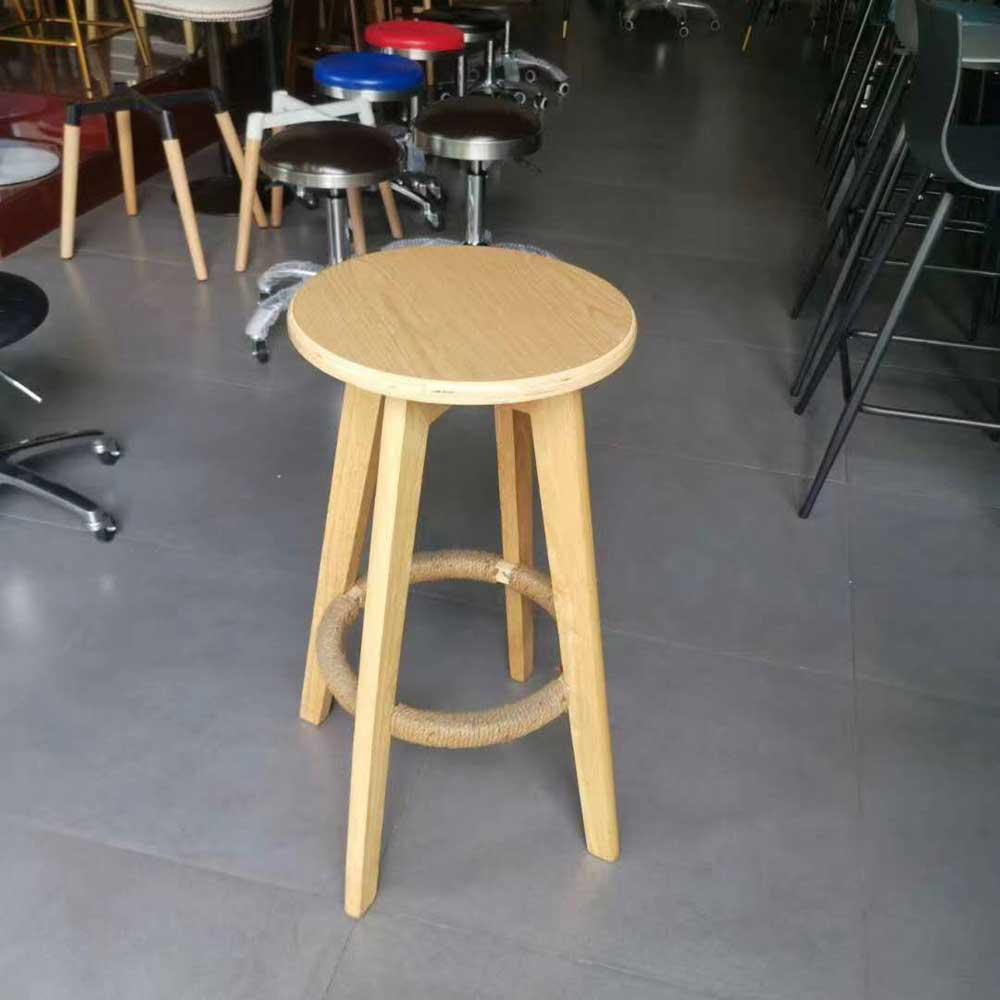 BY-21  创意实木吧凳