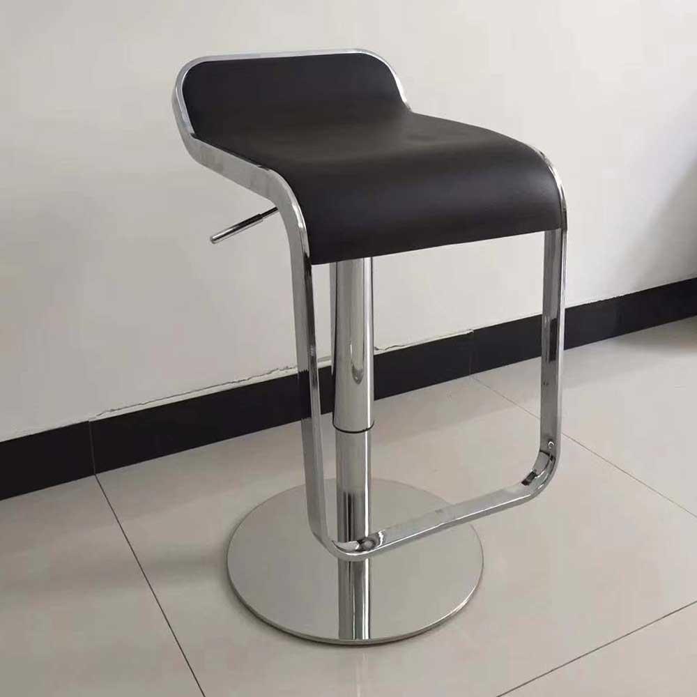 BY-30  吧台椅升降软面高脚椅