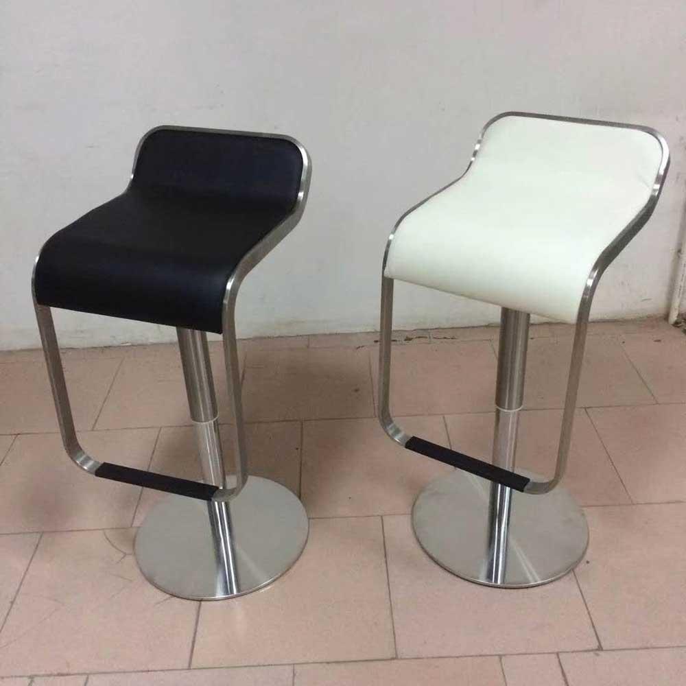 BY-37 不锈钢升降吧椅高脚椅凳