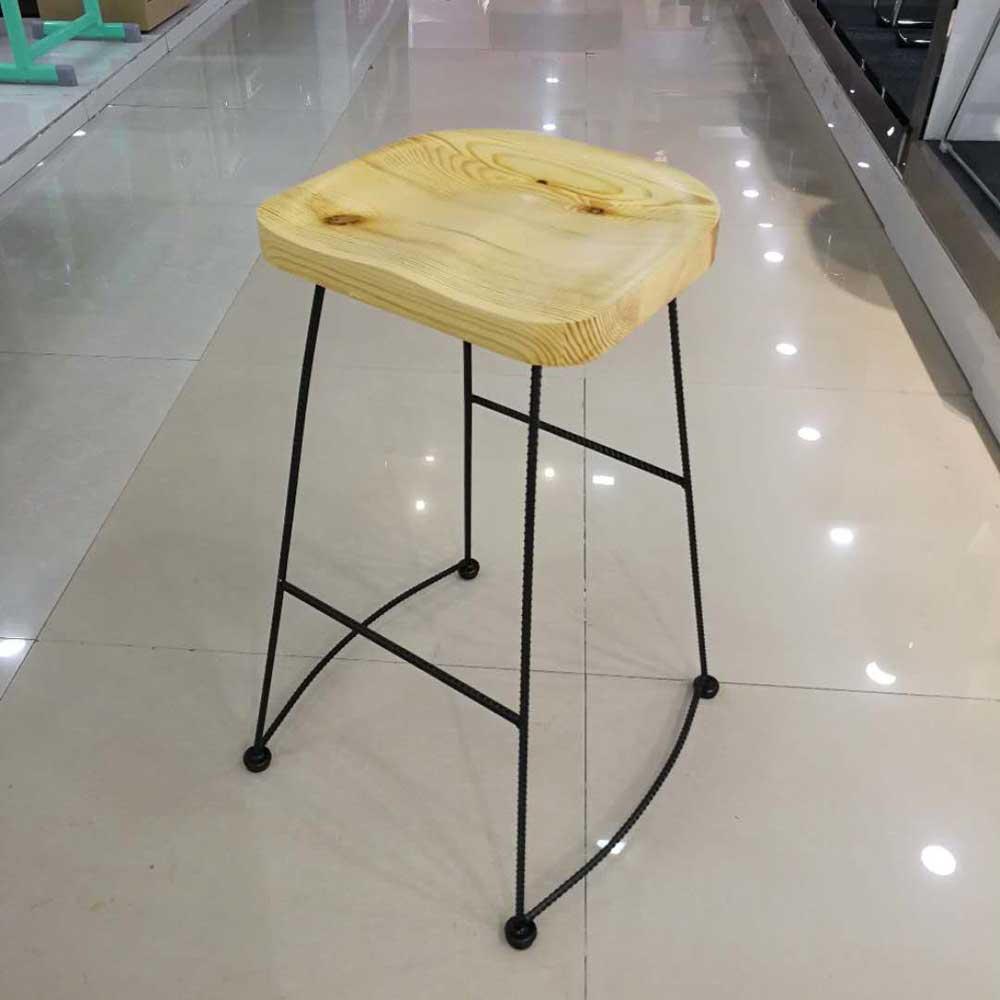 BY-47 北欧铁艺高脚椅时尚酒吧椅