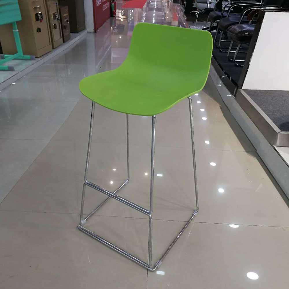 BY-48 现代铁艺吧椅高脚吧台凳