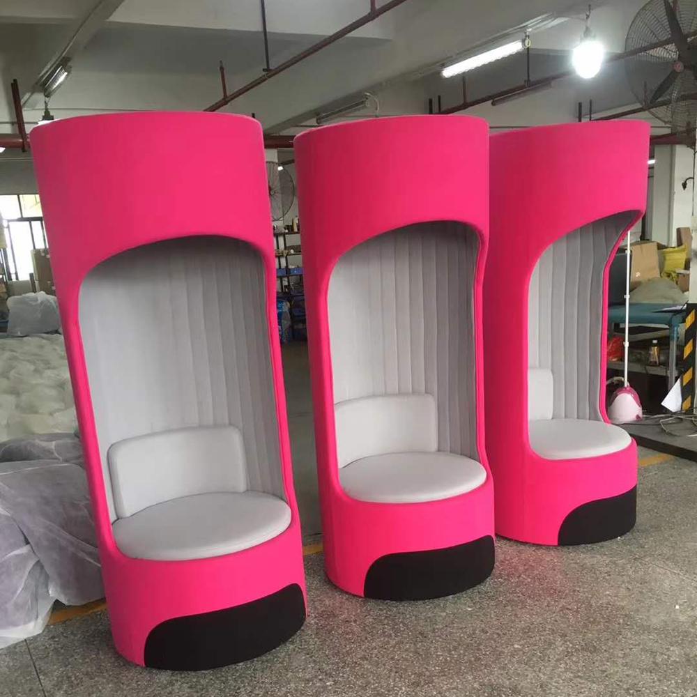 XXY-109休闲接待创意高背布艺单人沙发