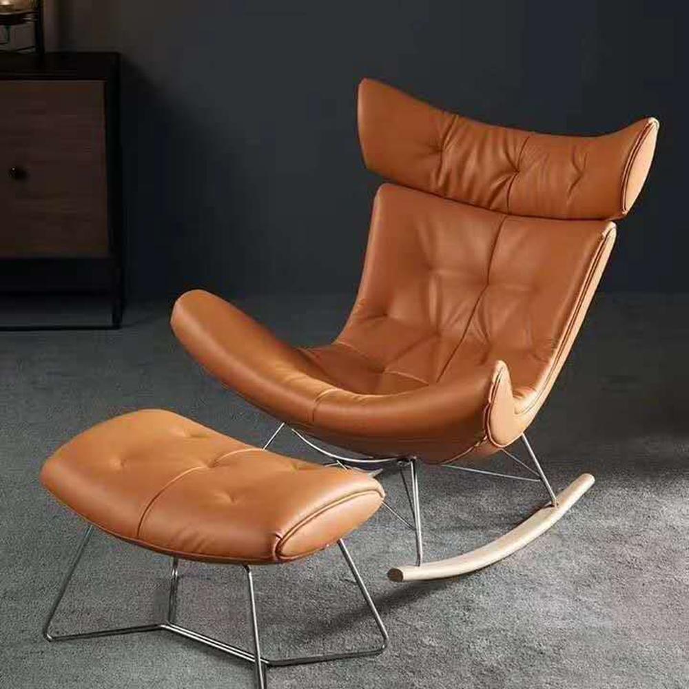 XXY-116  轻奢单人沙发椅摇椅