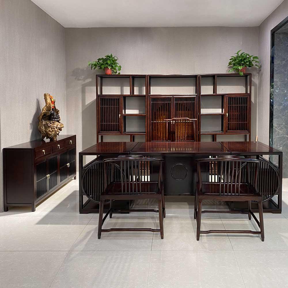 SZ-03  新中式书房家