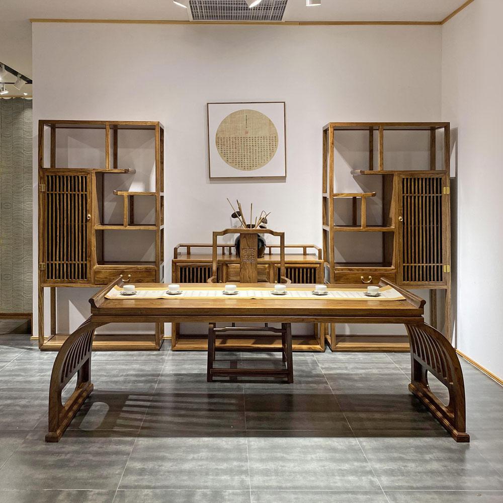SZ-003 禅意实木书桌