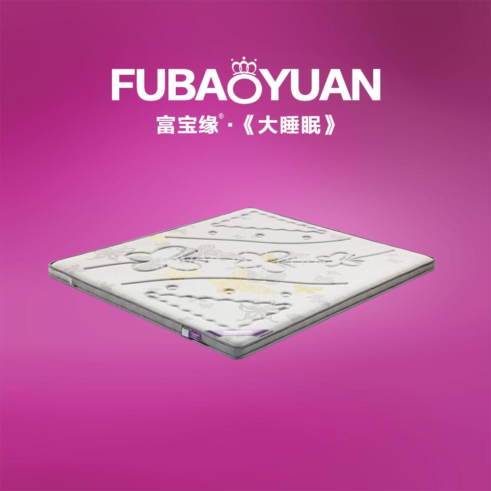 新款床垫  双面5分环保棕床垫 反面凉席 F2-2凤蝶