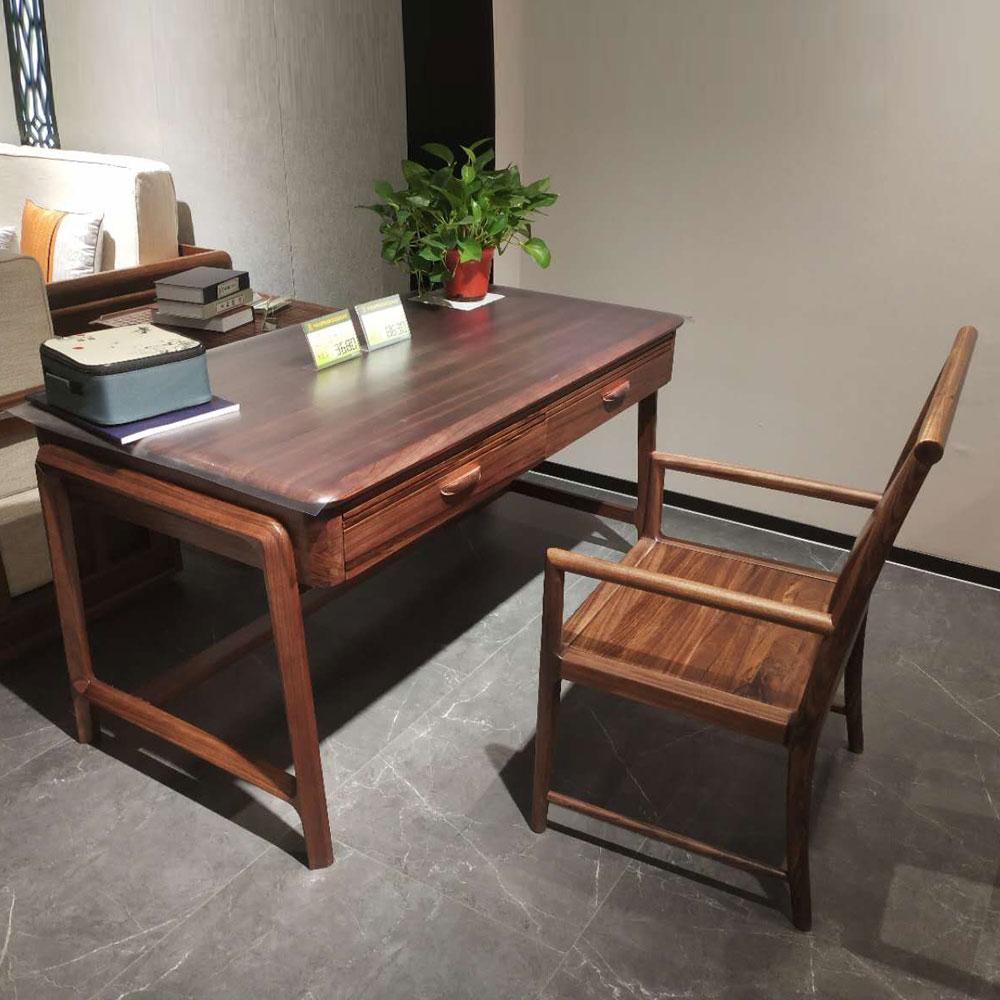 SZ-101 轻奢实木书桌
