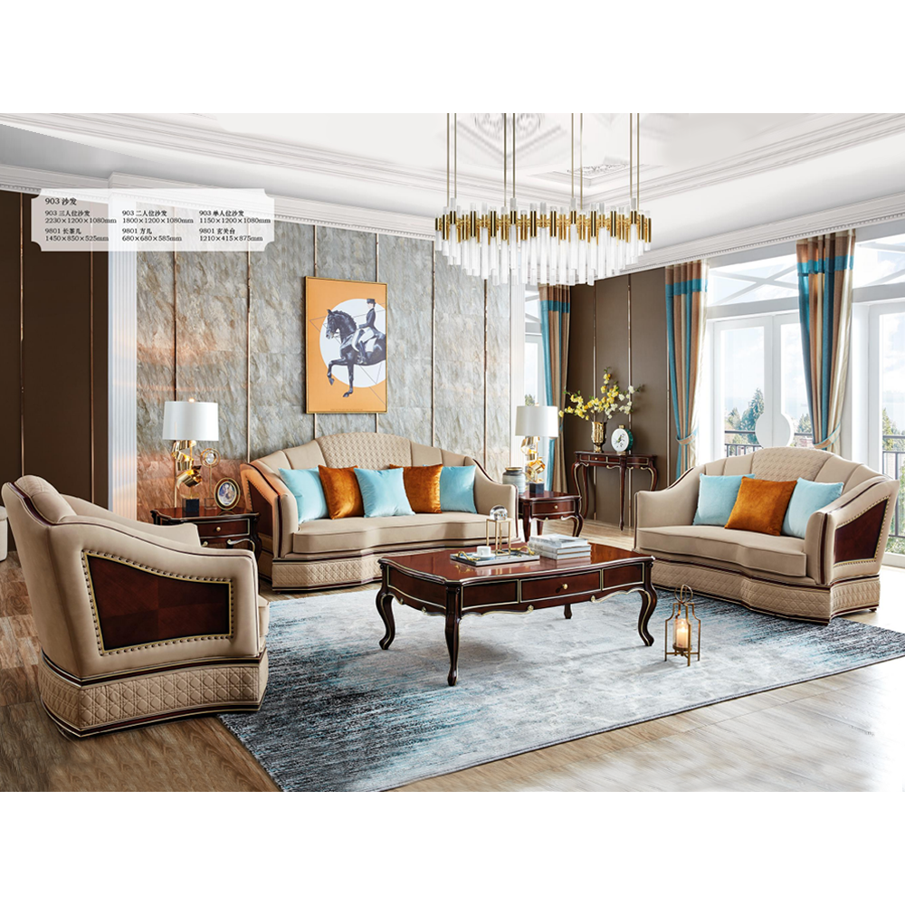 JYG美式轻奢系列家具