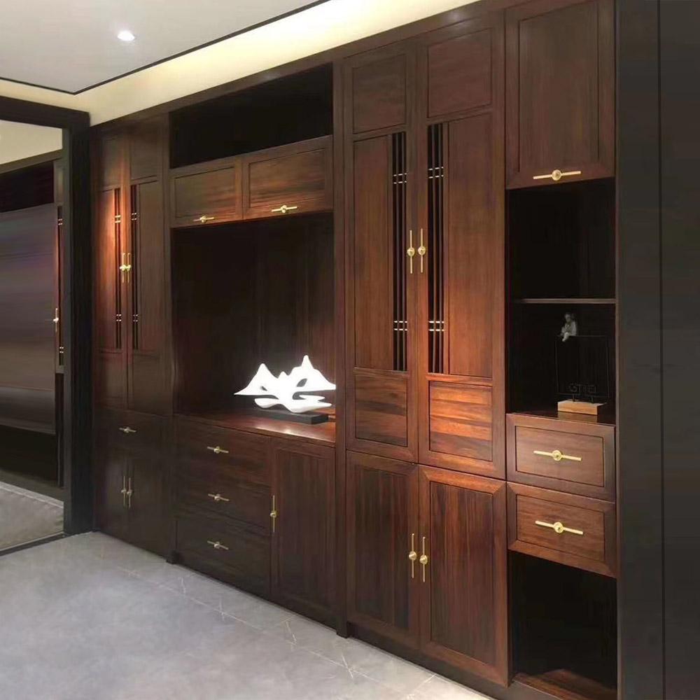 YG-102 新中式实木衣柜