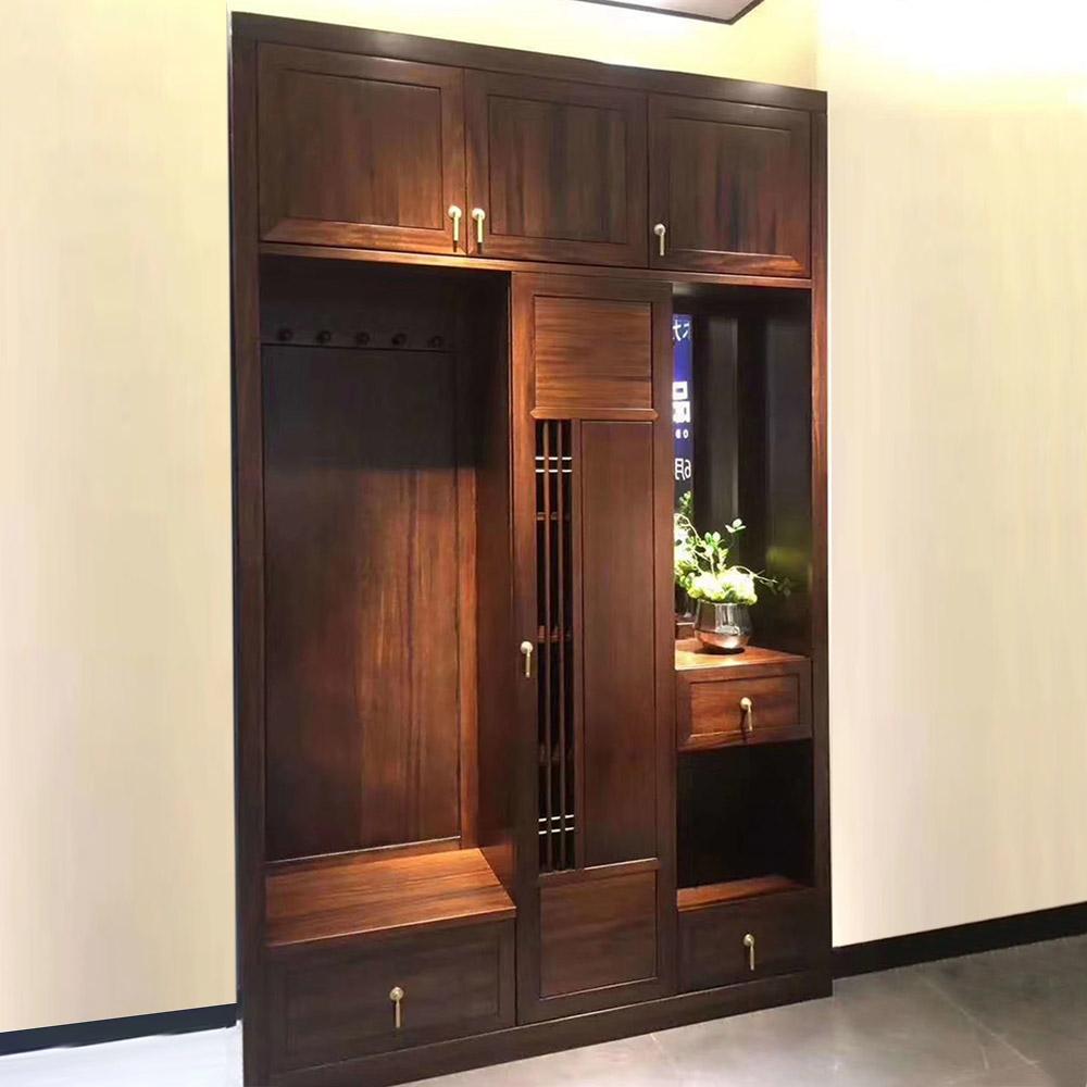 YG-103 新中式实木衣柜
