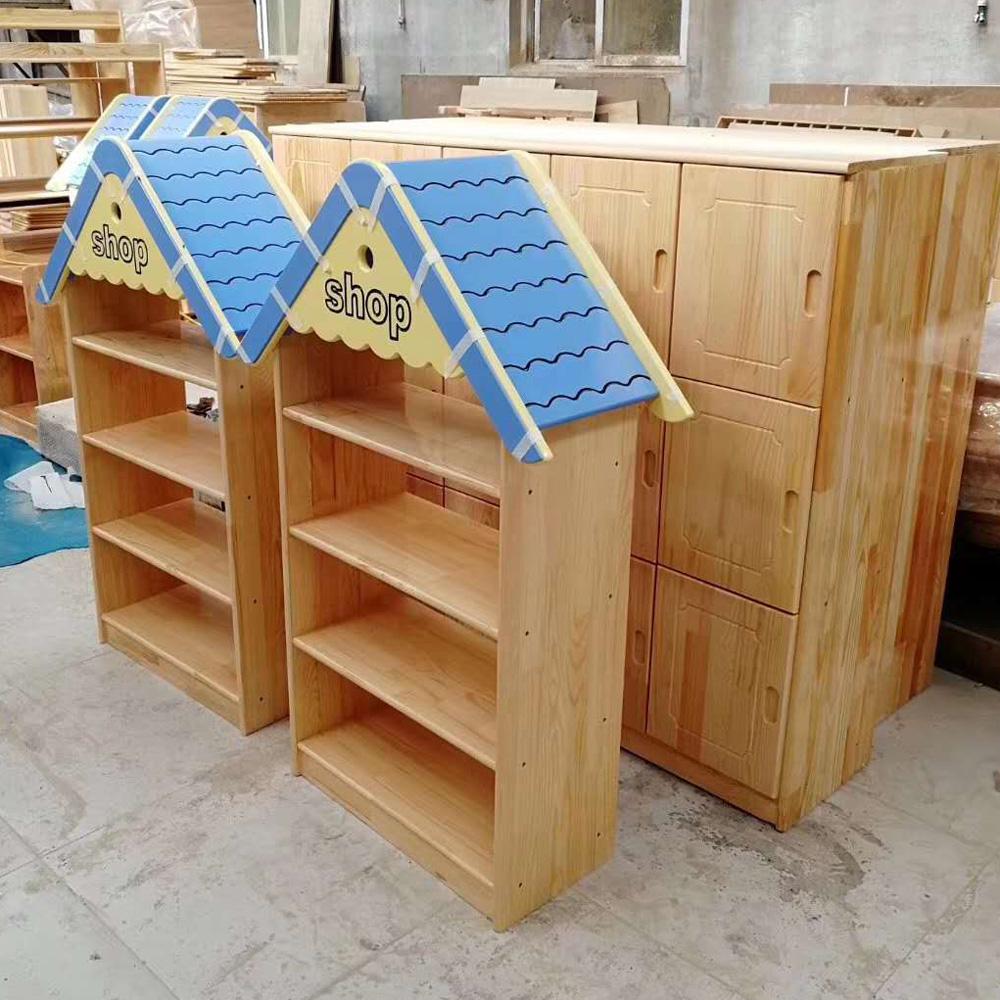 YEY-05 幼儿园玩具柜城堡组合柜