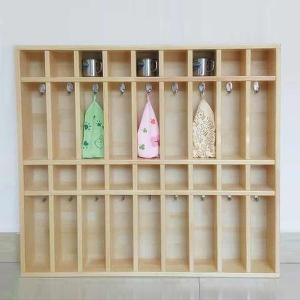 YEY-12 幼儿园毛巾水杯收纳柜