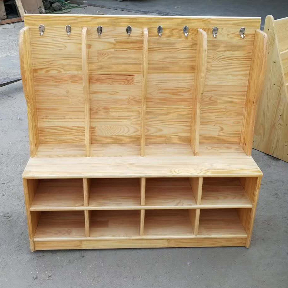 YEY-21 幼儿园毛巾柜鞋柜一体