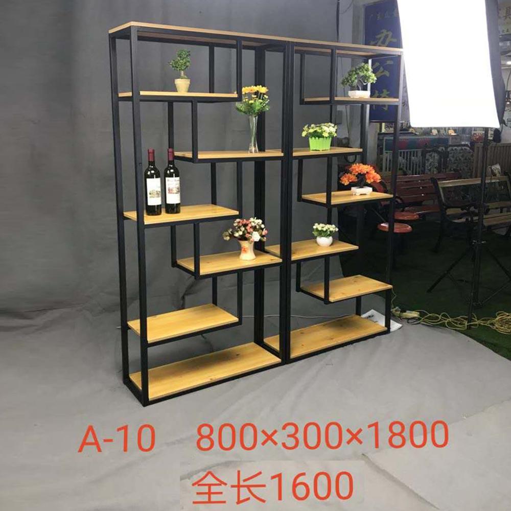 A-10 铁艺博古架置物架装饰架