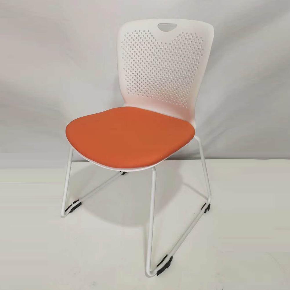 SLY-622 塑料弓形办公椅培训椅