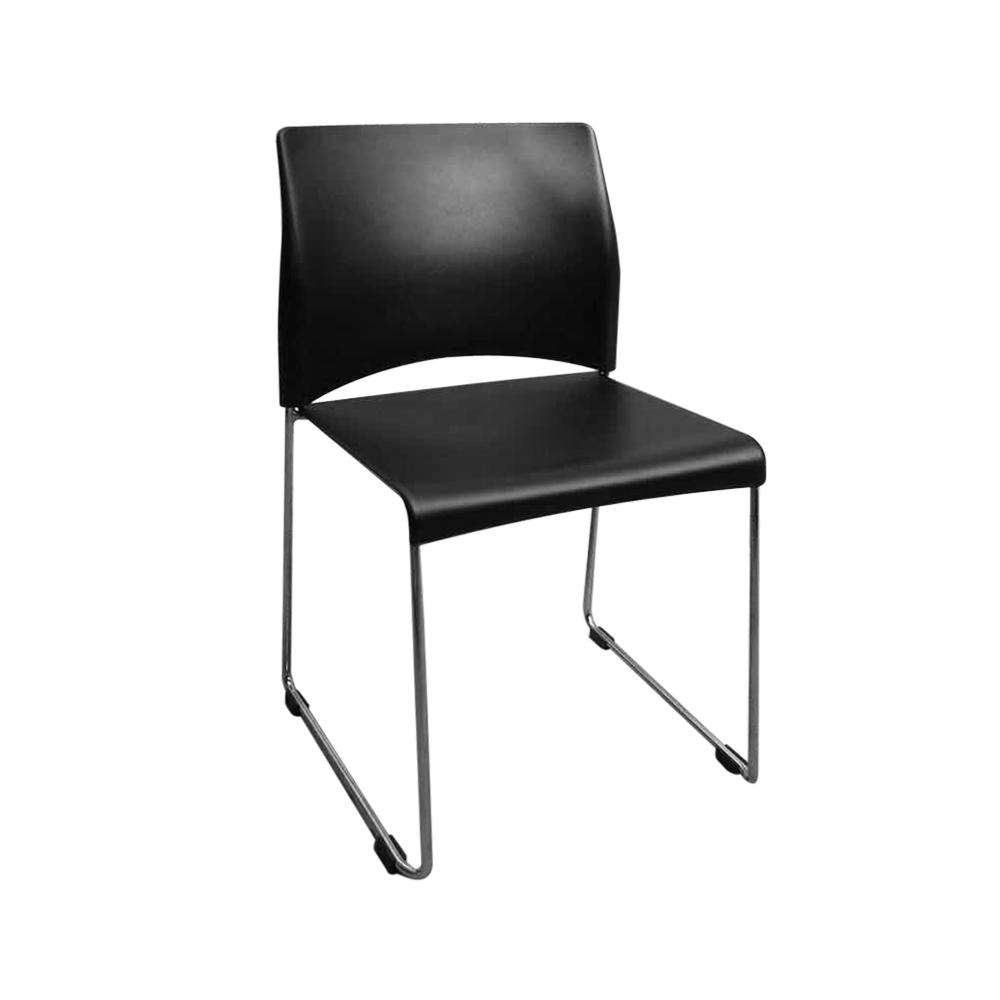 SLY-626 简约塑料靠背椅办公椅
