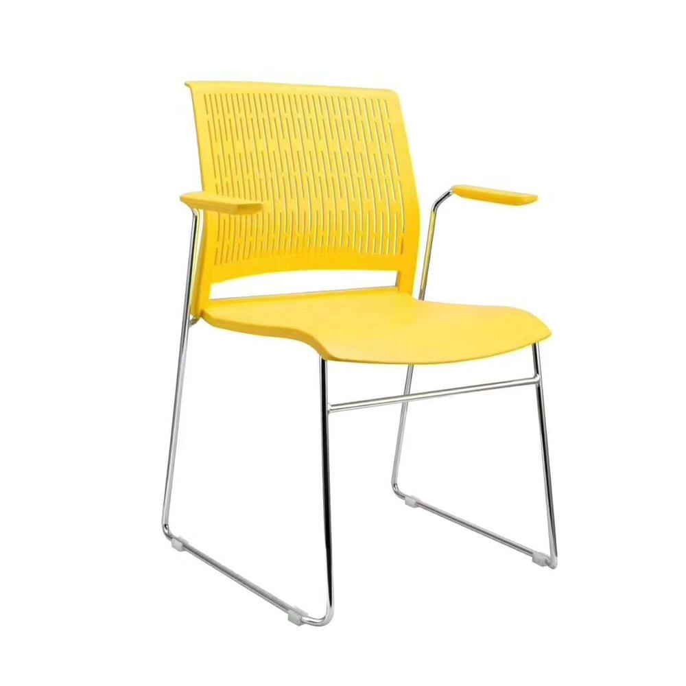 SLY-633 彩色塑料培训办公椅