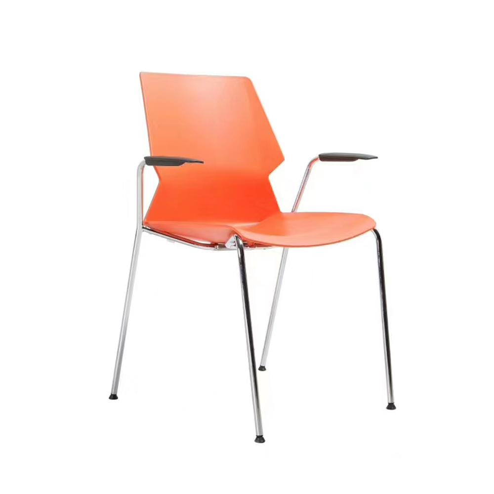 SLY-634 彩色塑料培训办公椅厂家
