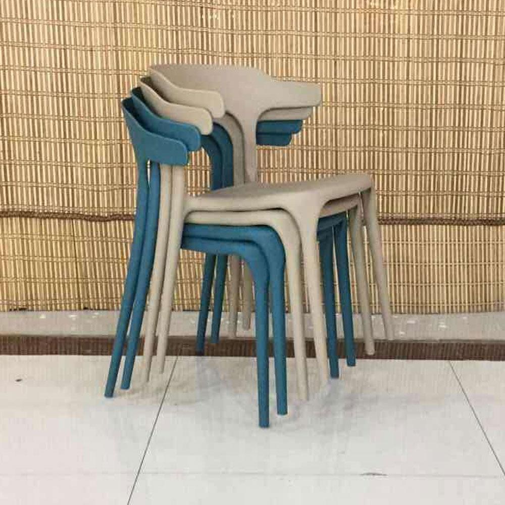 PP-805 现代创意靠背塑料椅