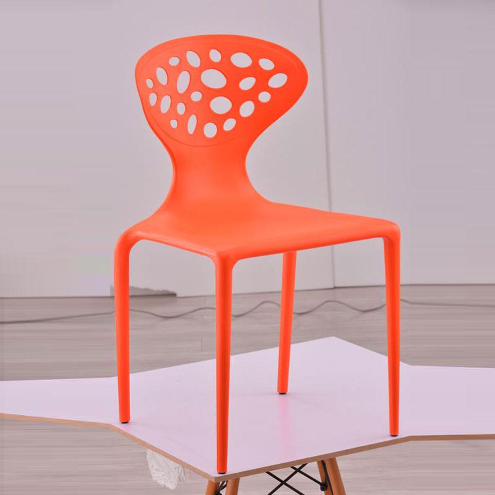 PP-806 创意塑料靠背休闲椅