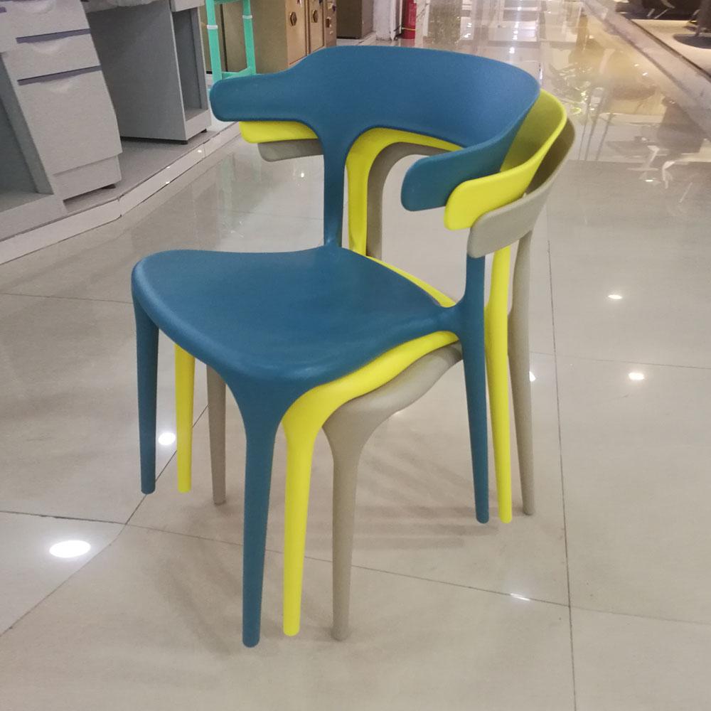 PPY-107#家用牛角椅带靠背