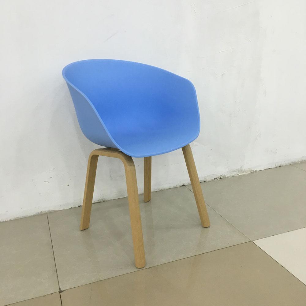 PPY-120# 洽谈椅彩色塑料靠背椅