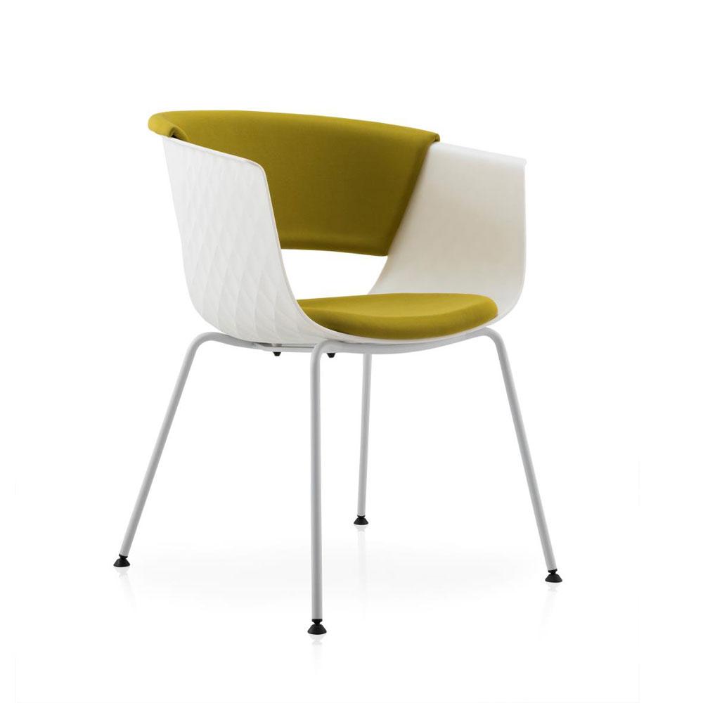 PPY-123# 塑料洽谈椅靠背椅