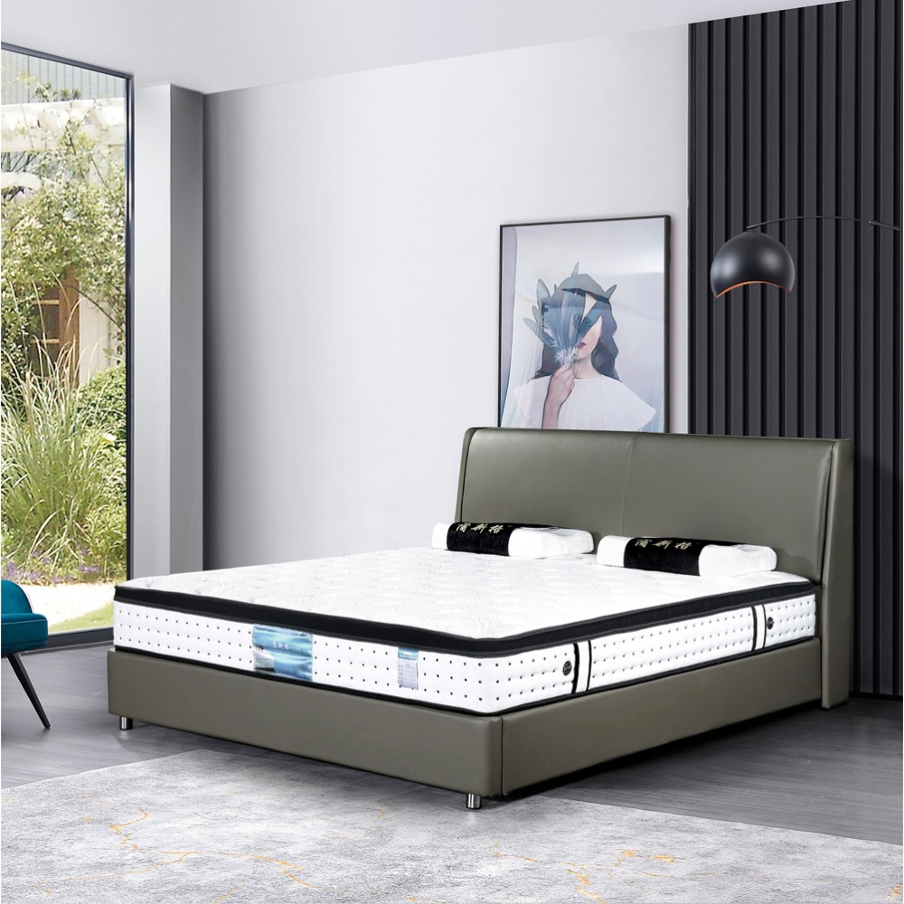 X28 卧室真皮双人床