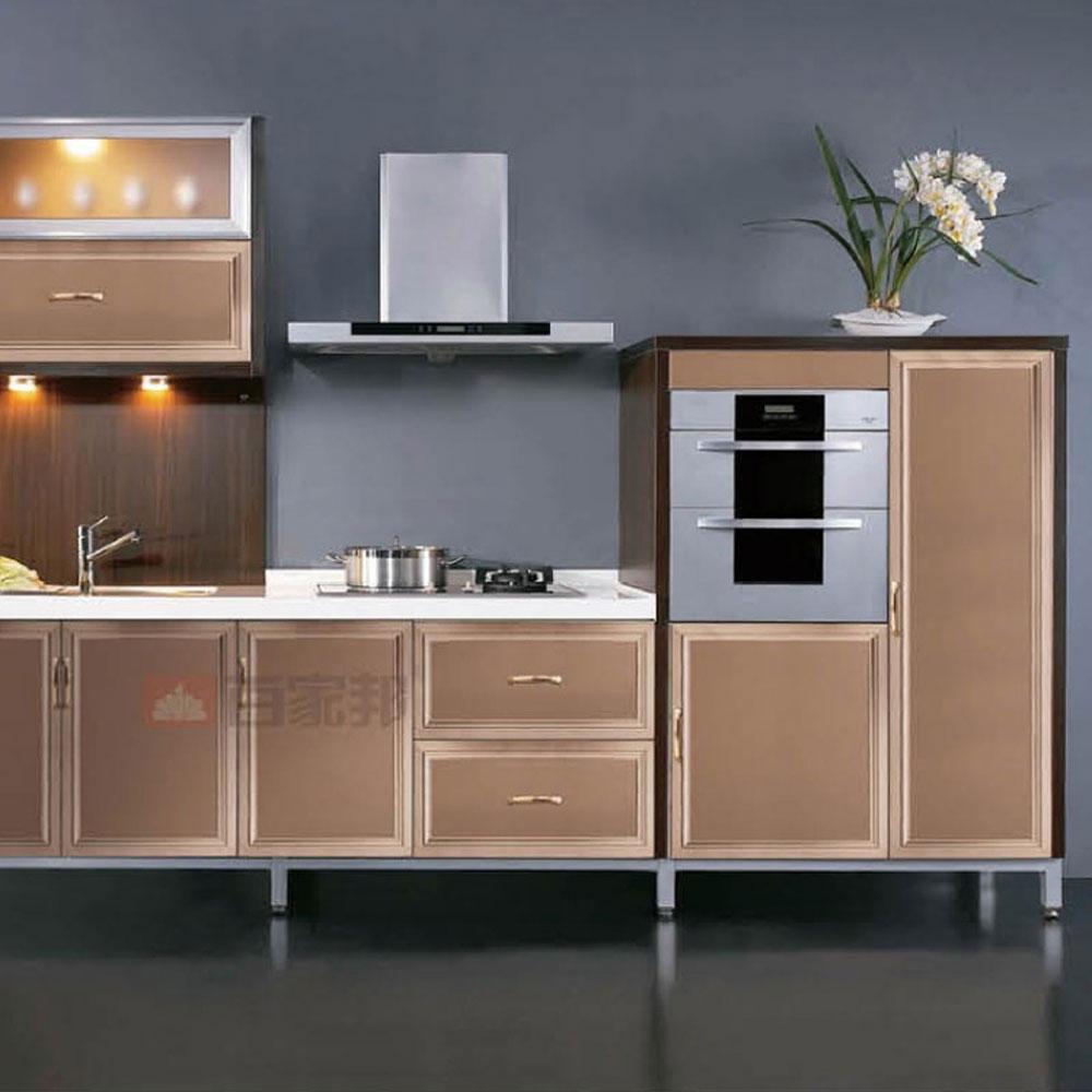 CG-06# 家装全铝厨房橱柜