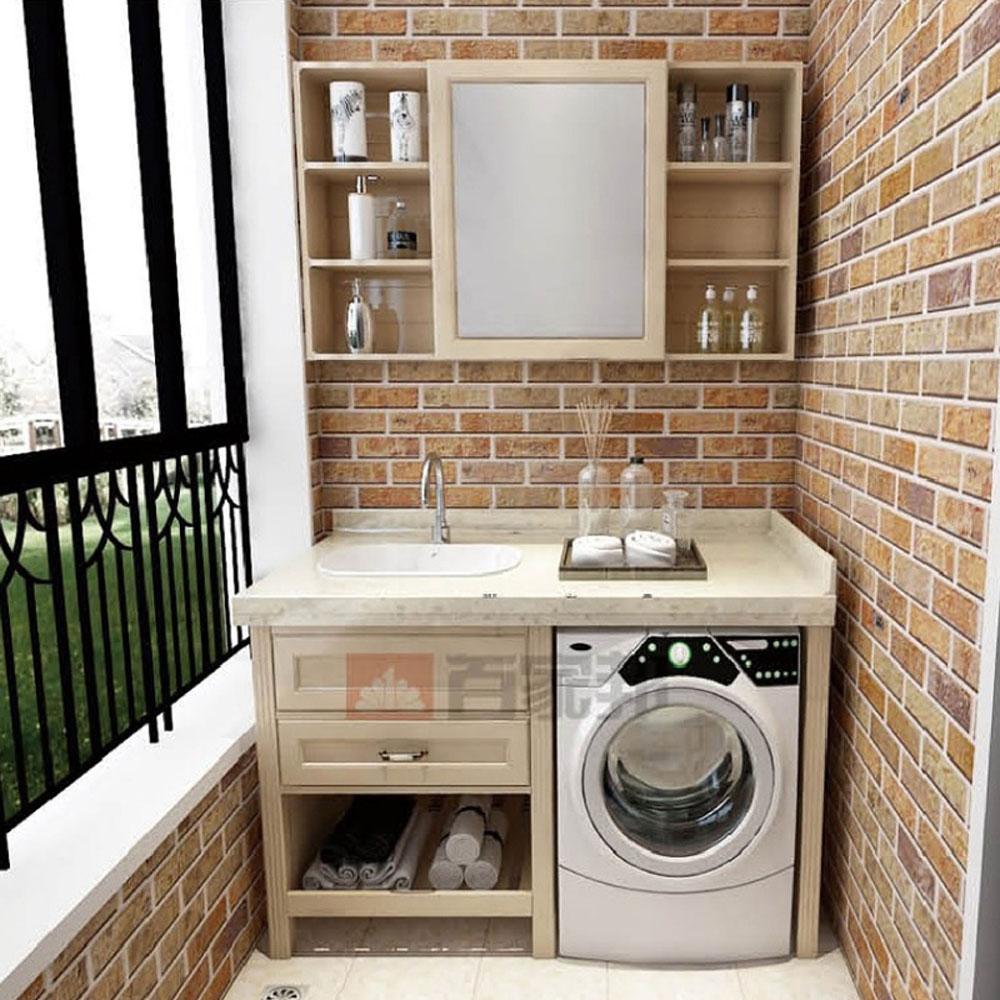 YTG-03# 一体式洗衣机阳台柜