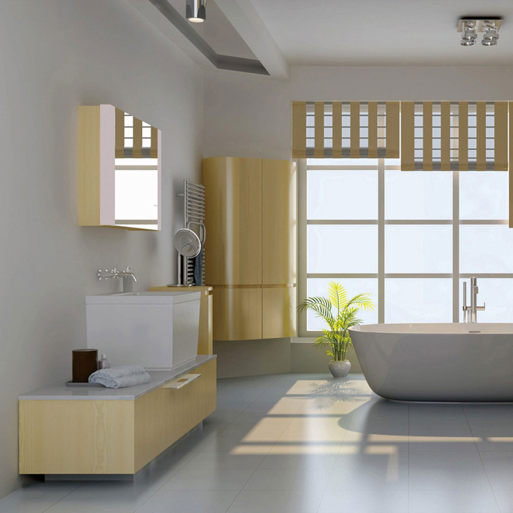 YSG-12# 公寓高端全铝浴室柜