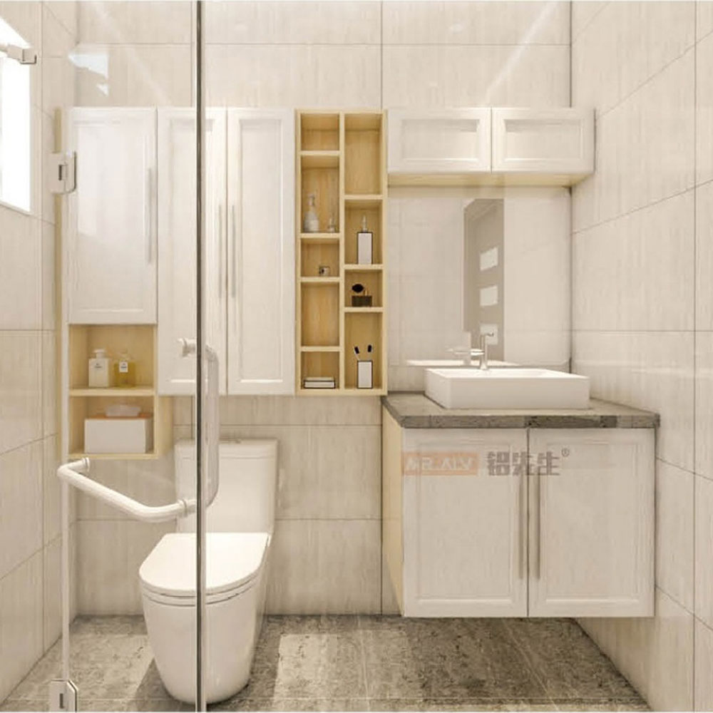 YSG-14# 简约全铝浴室柜价格