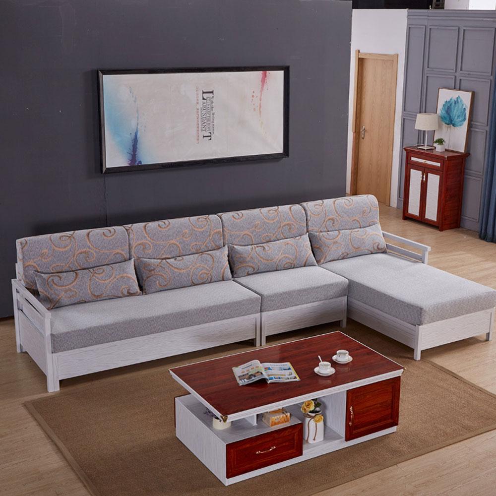 SF-05# 简约全铝转角布艺沙发