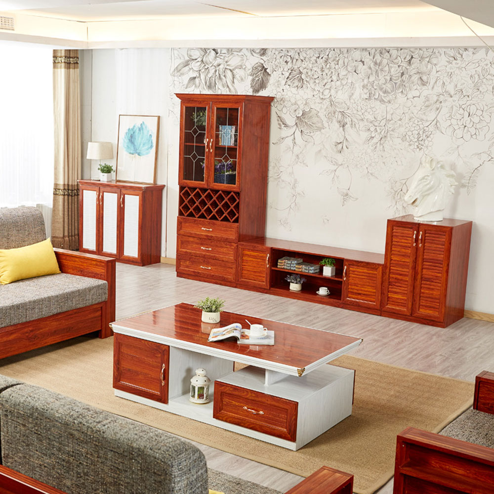 DSG-09# 全铝客厅茶几电视柜