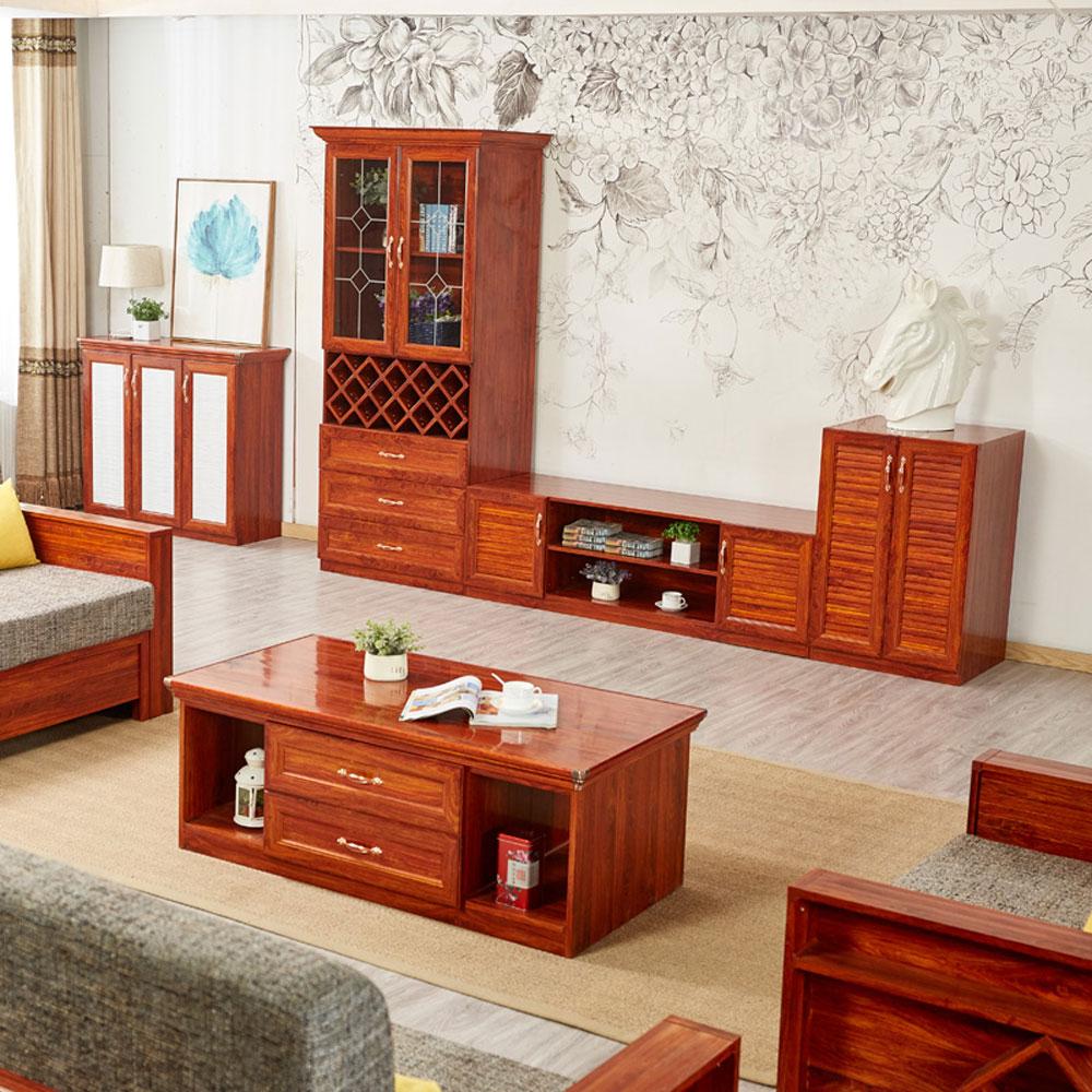 DSG-12# 全铝客厅电视柜茶几组合