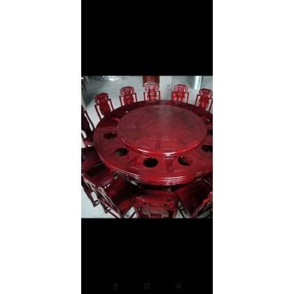 红木2.6米圆台