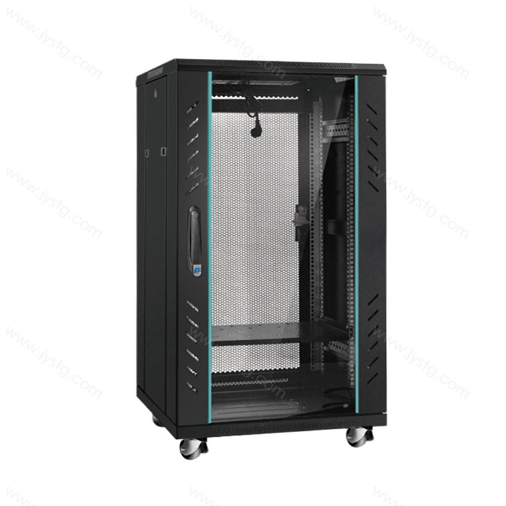 加厚钢化玻璃小型机柜 JG-05#