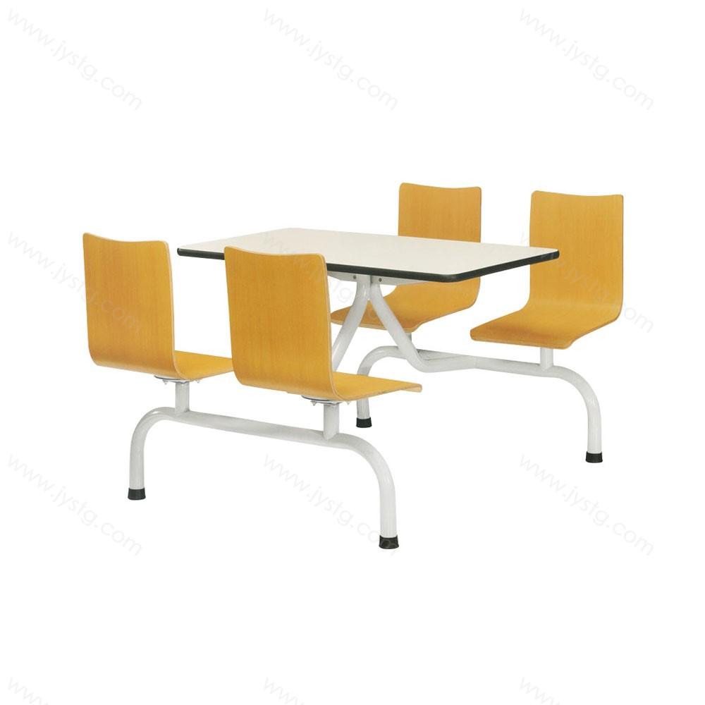 连体餐桌椅快餐桌椅连体 CZ-04#