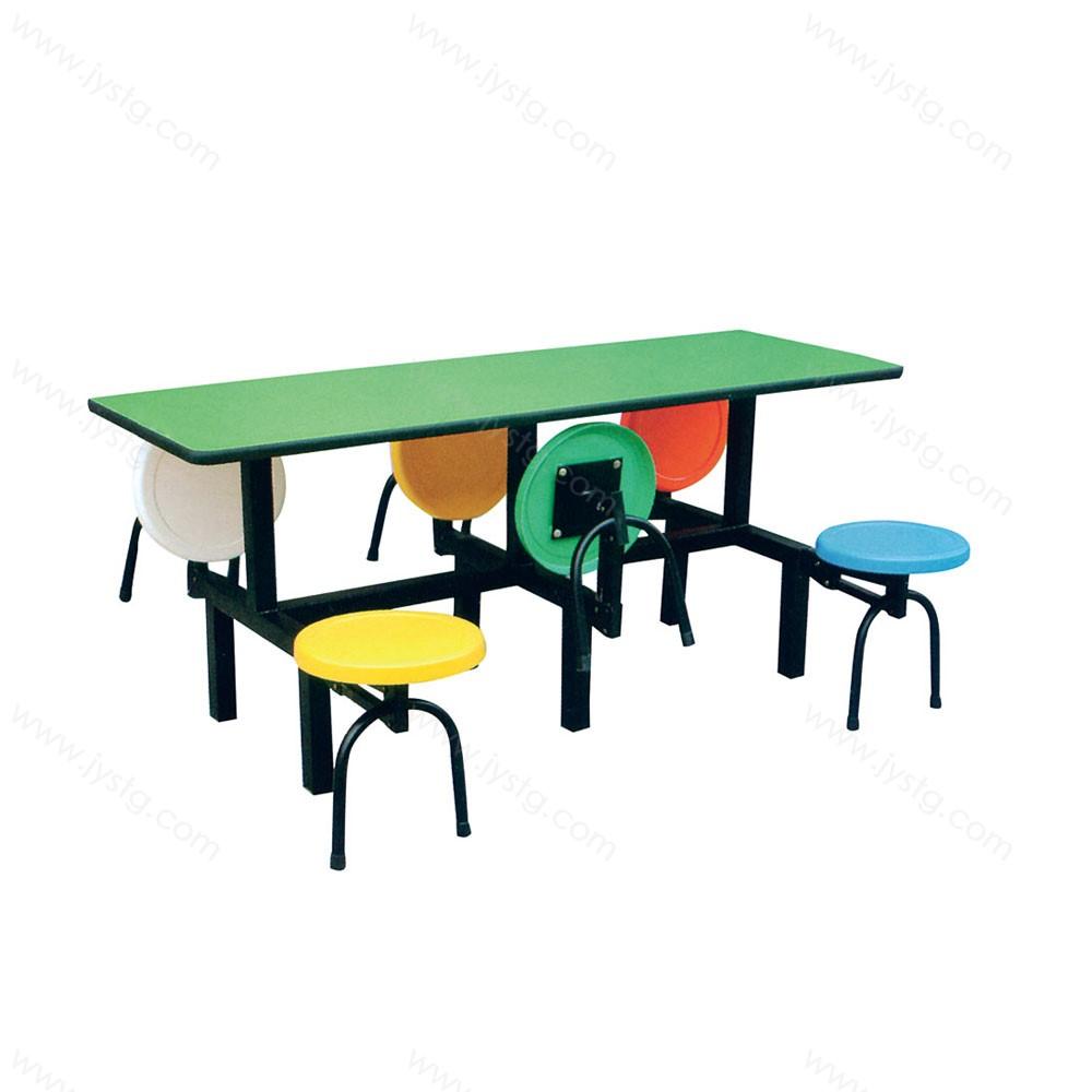 不锈钢方桌 快餐桌椅 CZ-06#