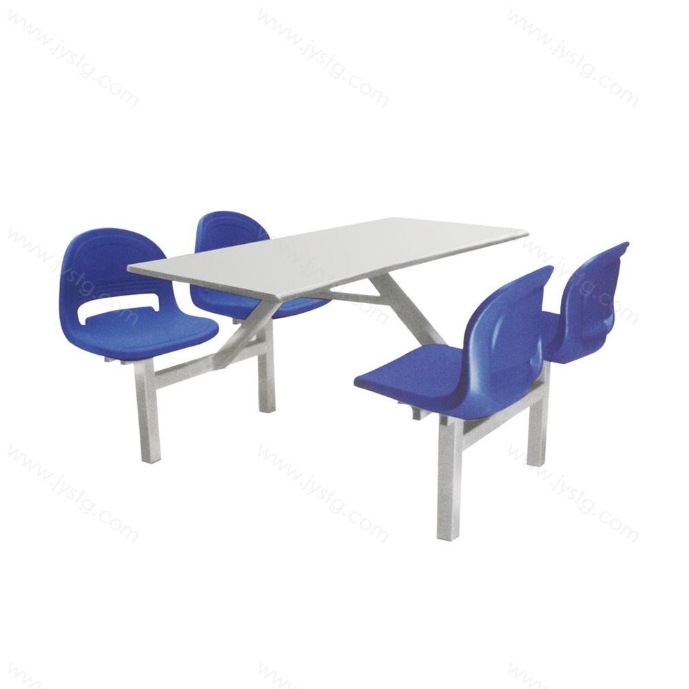 不锈钢方桌食堂餐桌椅 CZ-08#