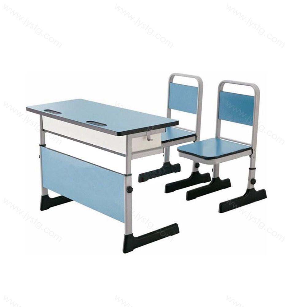 双人升降课桌椅组合KZY-09#